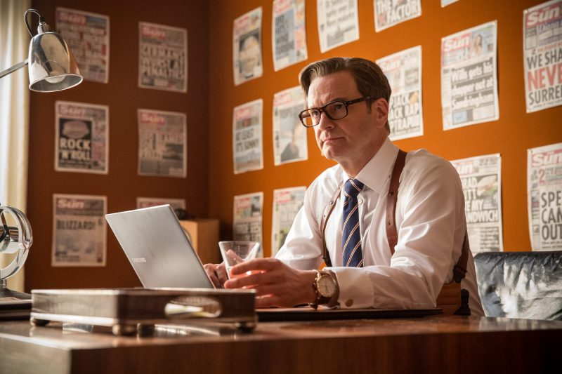 Colin Firth and Bremont in Kingsman