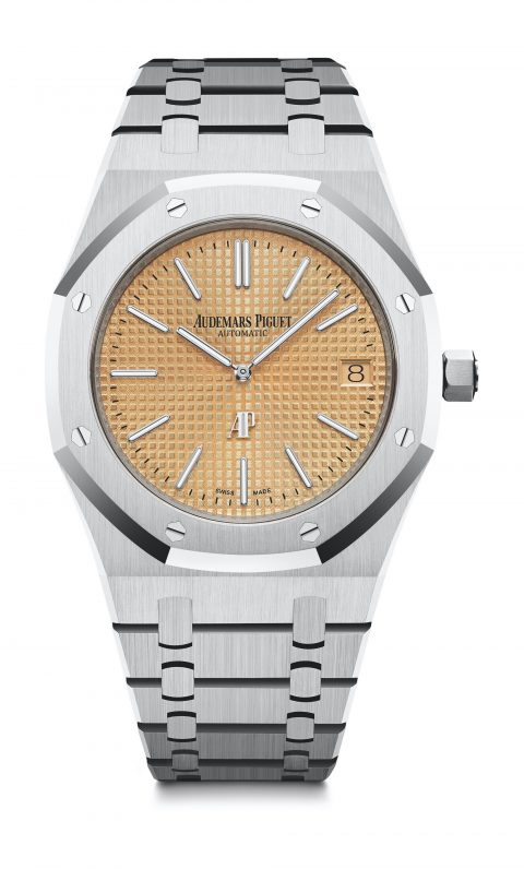 "GPHG 2019 Iconic Watch Prize Audemars Piguet, Royal Oak ""Jumbo"" Extra-thin  Price: CHF 55'700"