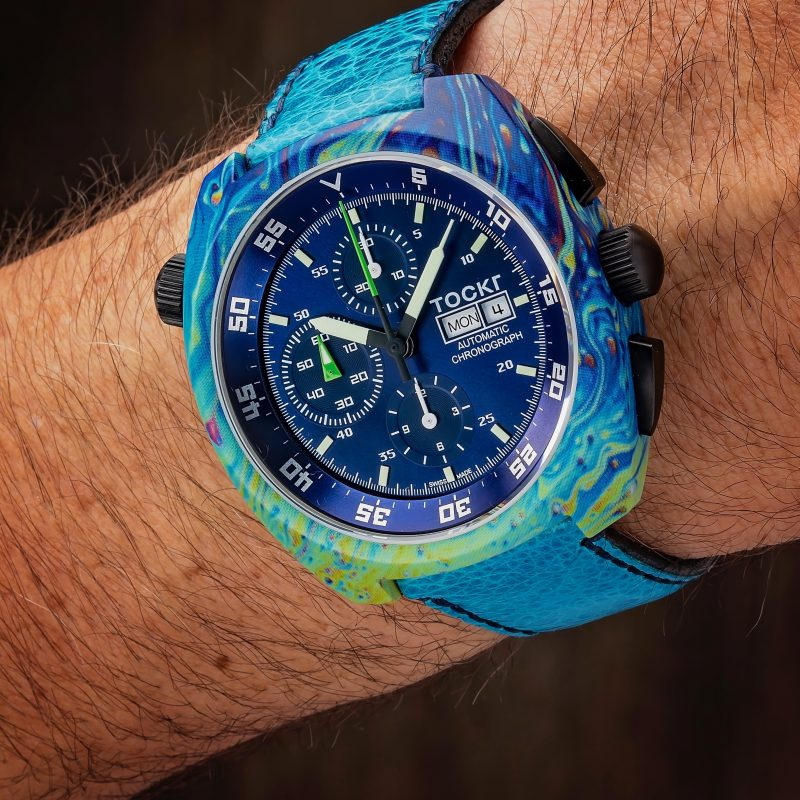 Tockr gets funky with hydro dipping – The Watch Pages