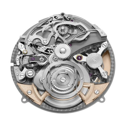 The minute repeater skeletonized