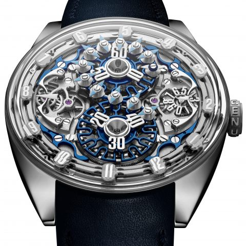 GPHG 2019 Mechanical Exception Watch Prize went to Genus, GNS1.2  Price: CHF 310'700