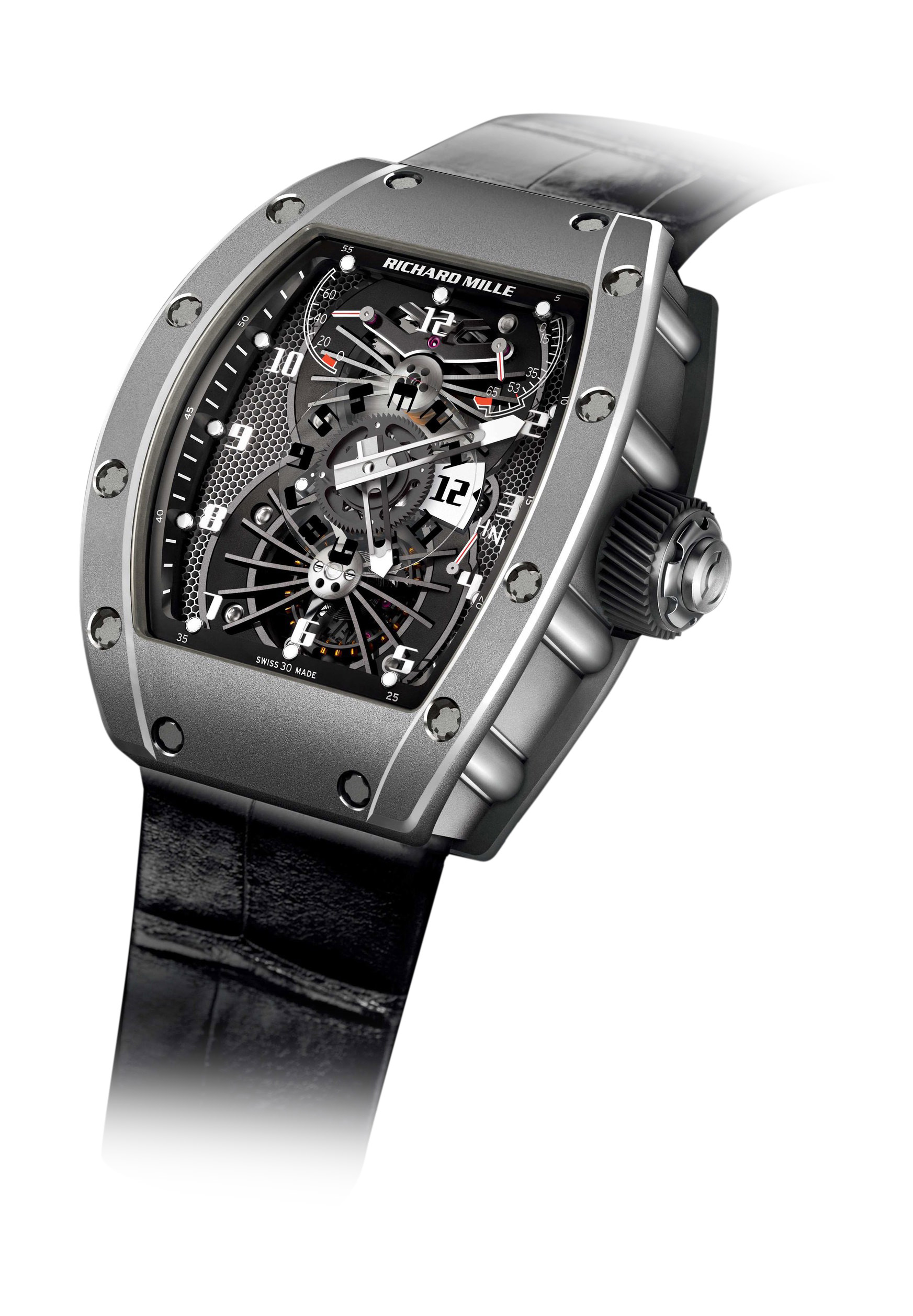 Richard Mille RM 022 Manual Winding Tourbillon Aerodyne Dual Time Zone –  The Watch Pages